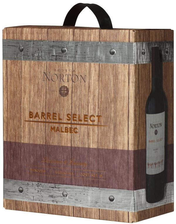 Norton Barrel Select Malbec 2015 hanapakkaus