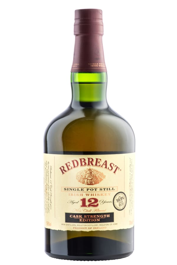 Redbreast 12 Year Old Cask Strength Single Pot Still