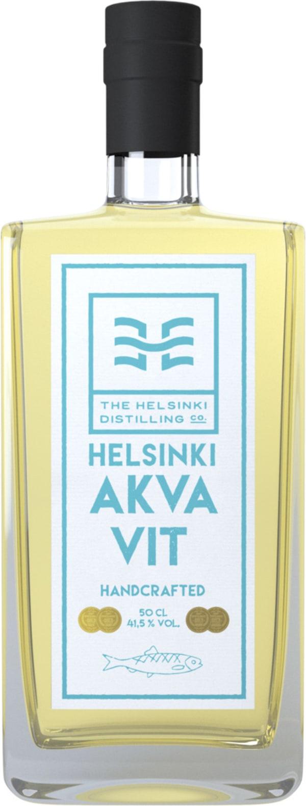 Helsinki Distilling Company Helsingfors Fiskehamns Akvavit