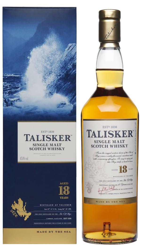Talisker 18 Year Old Single Malt