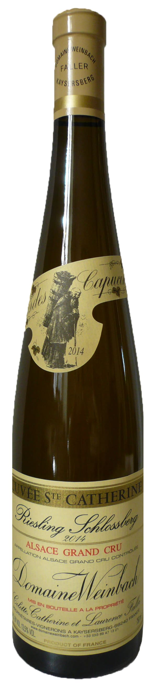 Domaine Weinbach Cuvée Ste Catherine Schlossberg Riesling  2015