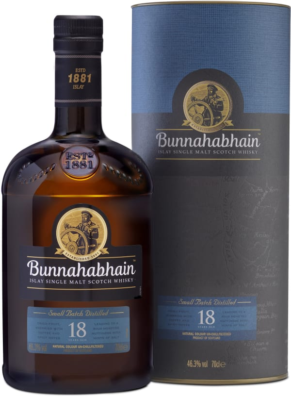 Bunnahabhain 18 Year Old Single Malt