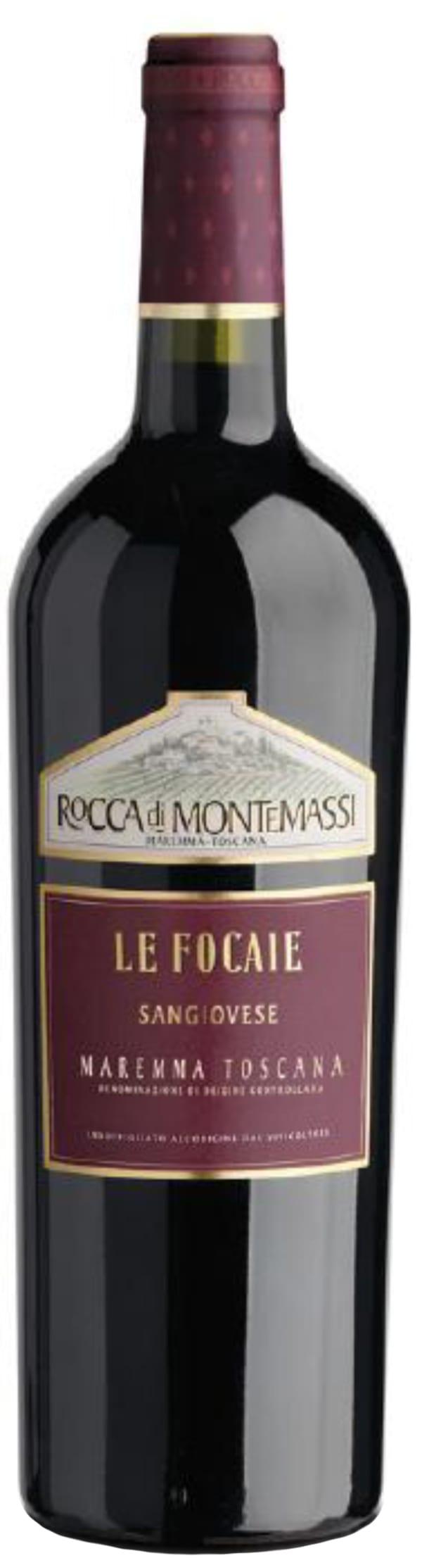 Rocca Di Montemassi Le Focaie Sangiovese 2015