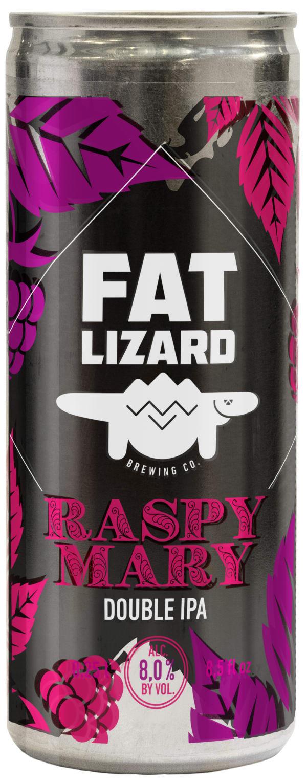 Fat Lizard Raspy Mary Double IPA can