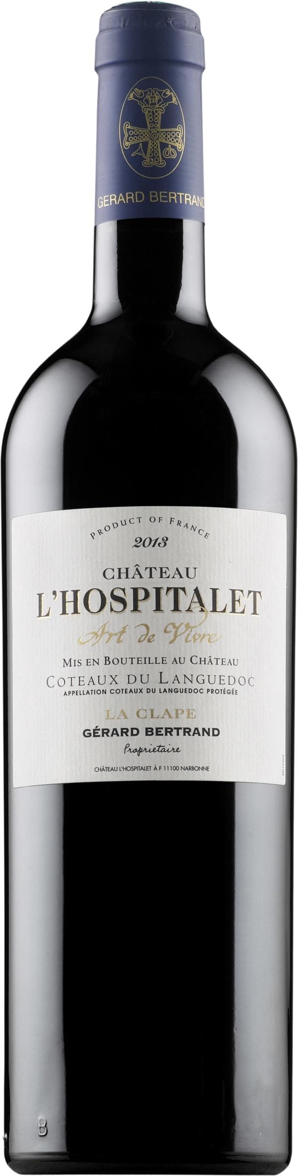 Gerard Bertrand Château l'Hospitalet Rouge 2015
