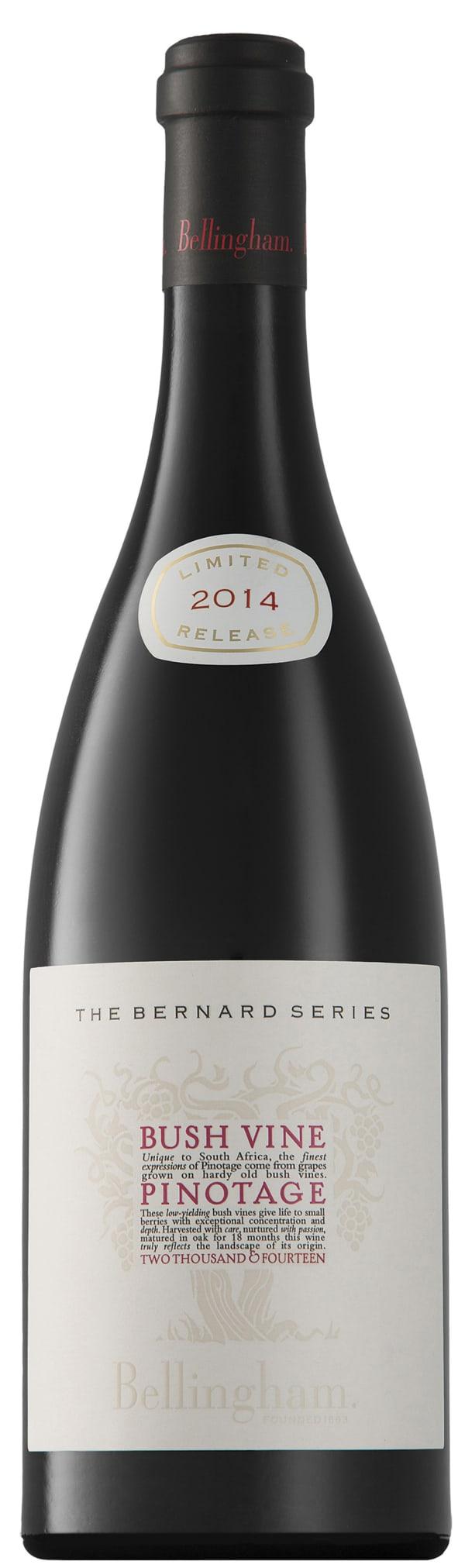 Bellingham The Bernard Series Bush Vine Pinotage 2014