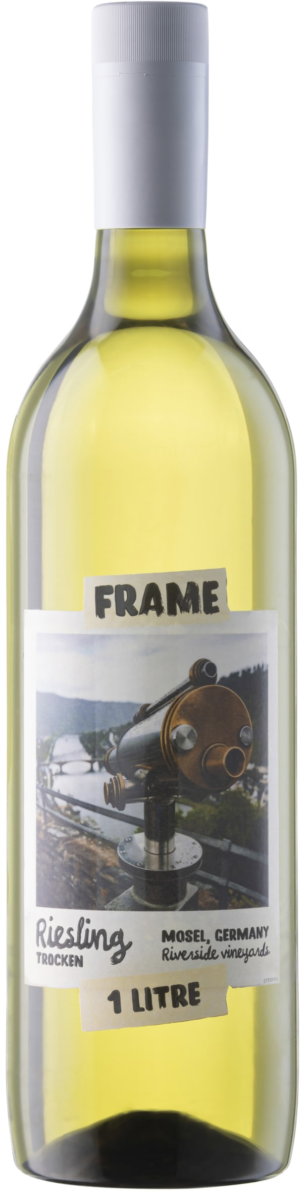 Frame Riesling Trocken plastic bottle