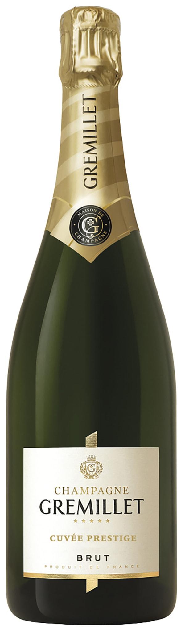 Gremillet Cuvée Prestige Organic Champagne Brut