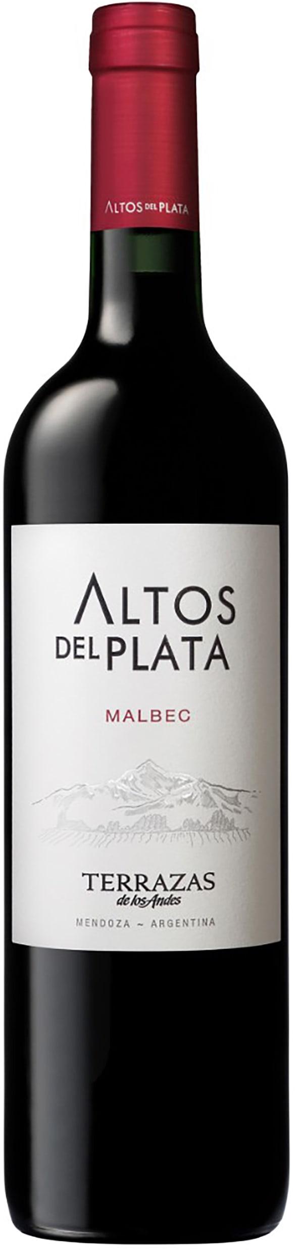 Terrazas de los Andes Altos del Plata Malbec 2015