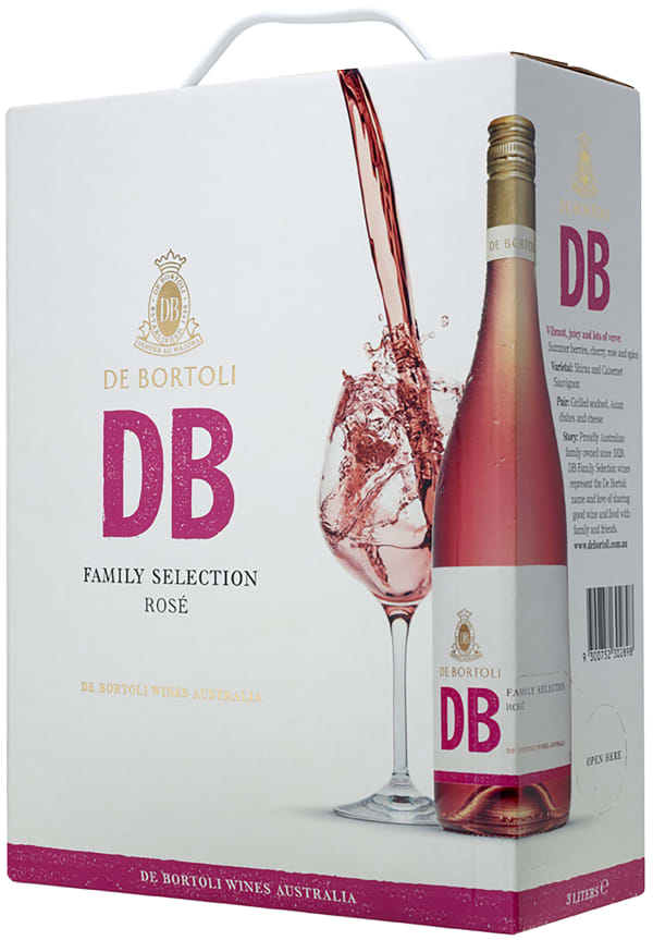 De Bortoli DB Selection Rosé 2015 hanapakkaus