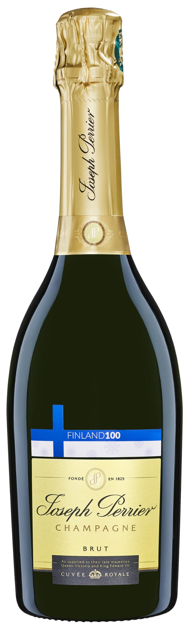 Joseph Perrier Cuvée Royale Finland 100 Champagne Brut