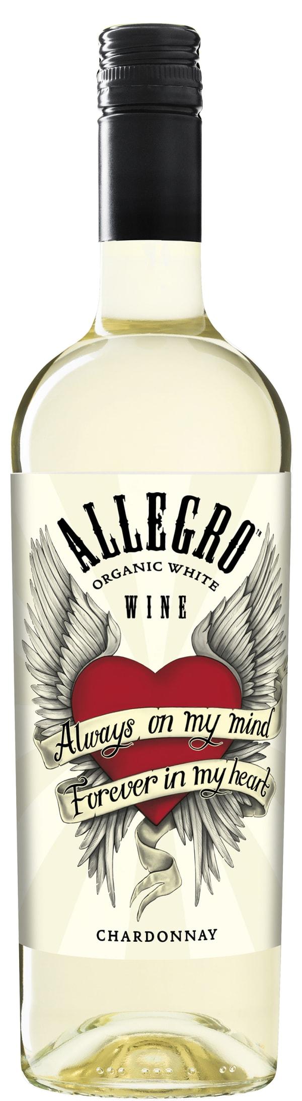 Allegro Organic Chardonnay 2015