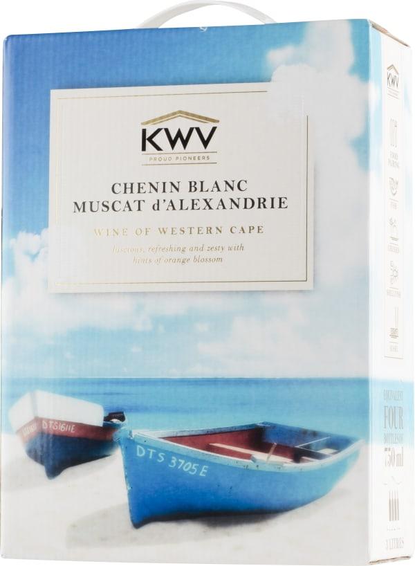 KWV Chenin Blanc/Muscat d'Alexandrie 2015 hanapakkaus