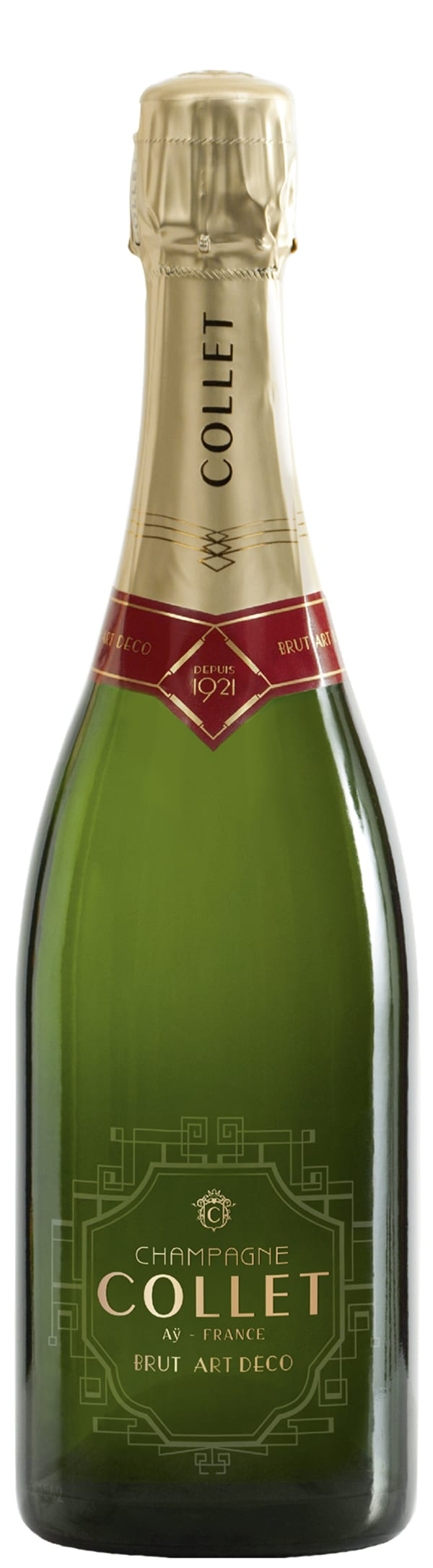 Collet Art Deco Champagne Brut