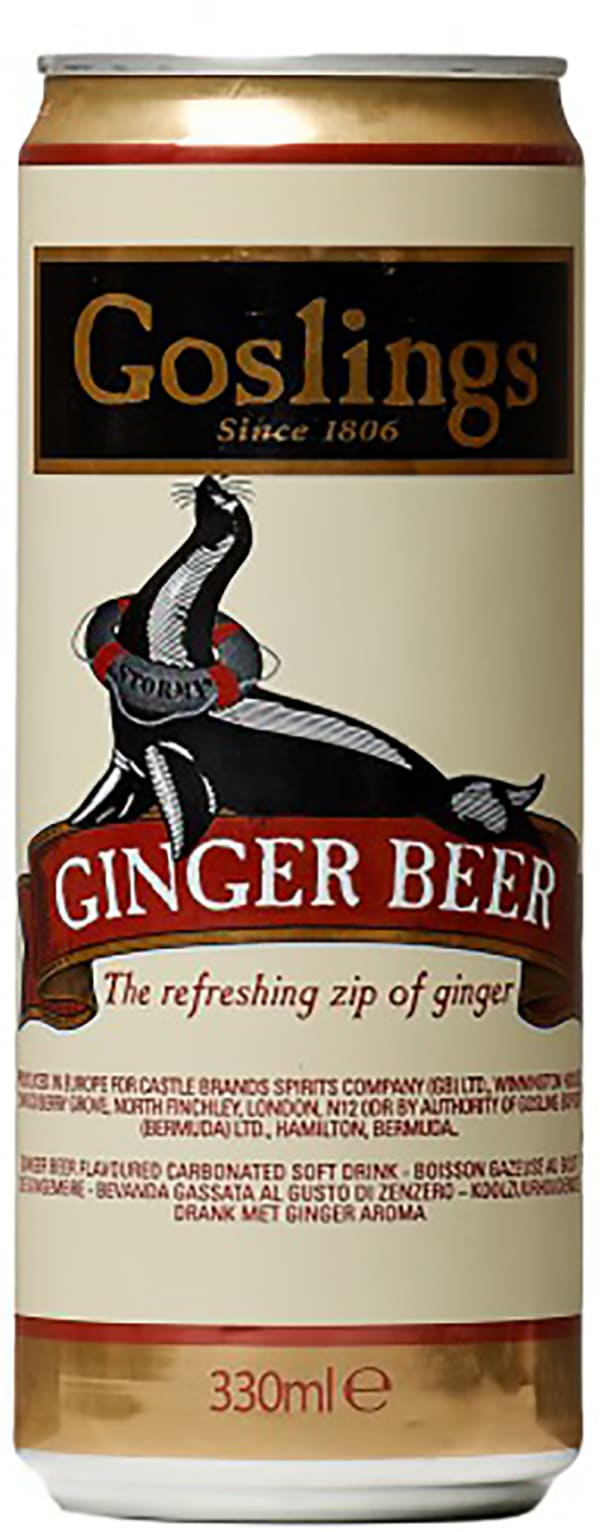 Gosling's Ginger Beer can