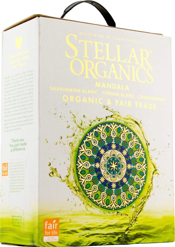 Stellar Organics Mandala Sauvignon Blanc Chenin Blanc Chardonnay hanapakkaus