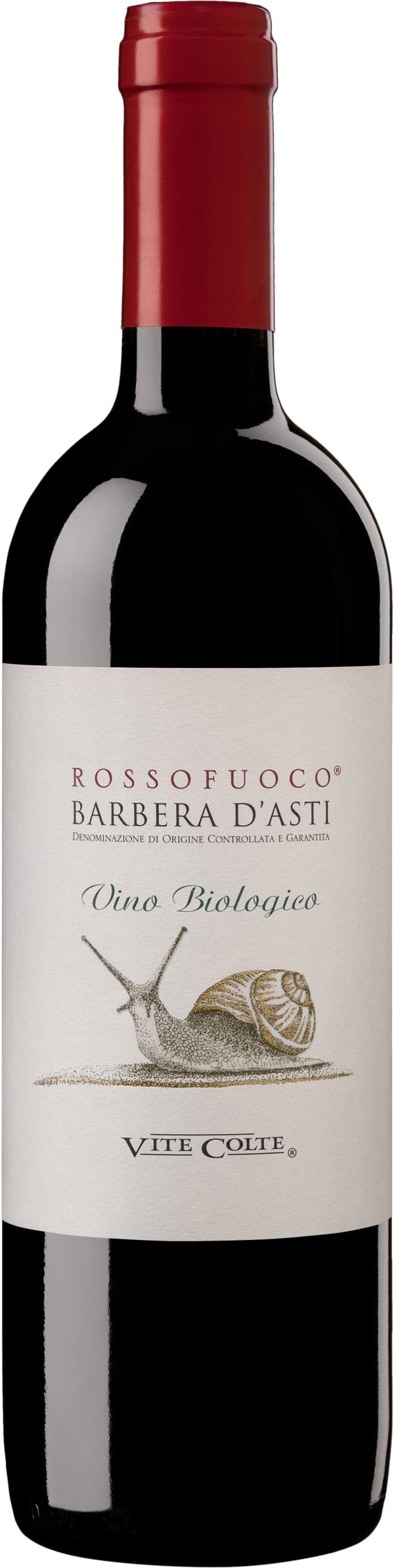 Rossofuoco Barbera d´Asti Biologico 2016