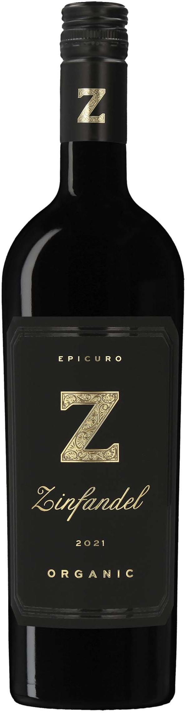 Epicuro Z Zinfandel 2015