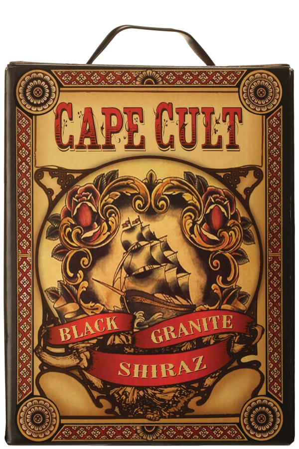 Cape Cult Black Granite Shiraz 2013 hanapakkaus