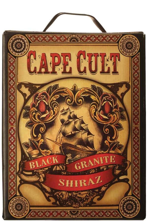 Cape Cult Black Granite Shiraz 2013 lådvin