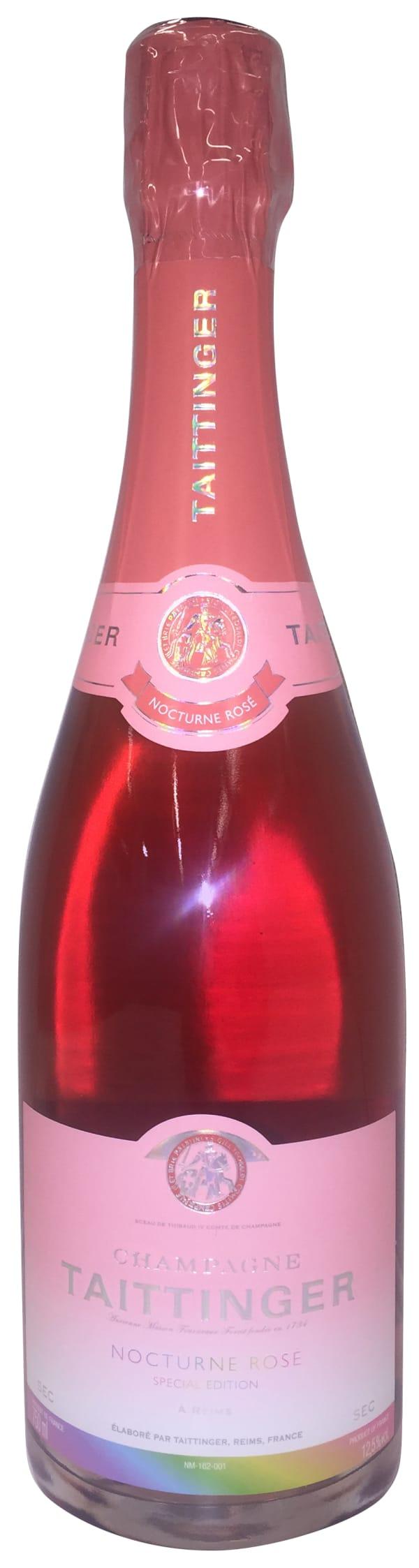 Taittinger Nocturne Special Edition Rosé Champagne Sec