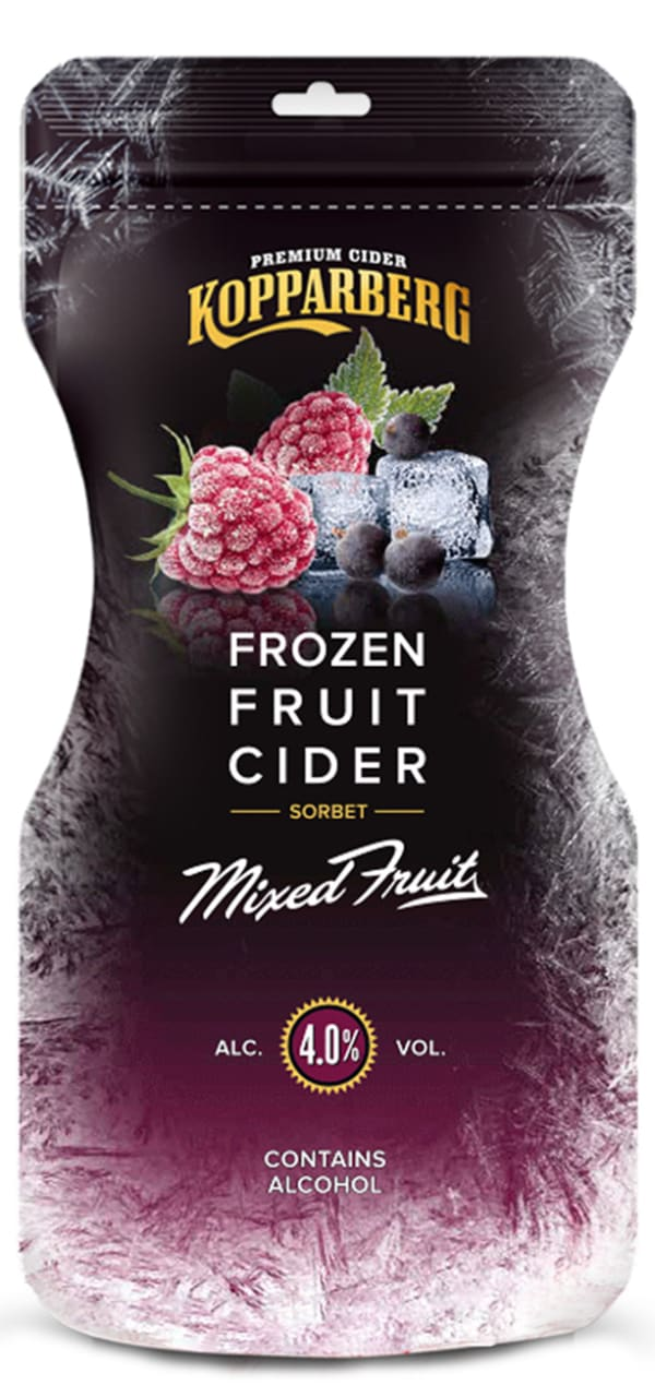 Kopparberg Frozen Fruit Cider Mixed Fruit   siideripussi
