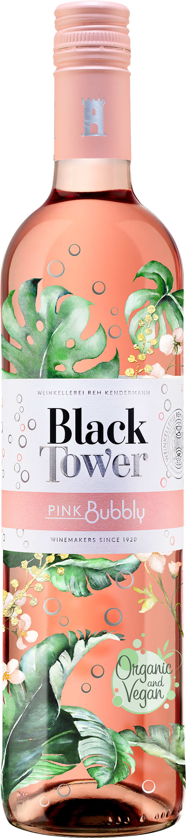 Black Tower Pink Bubbly 2015