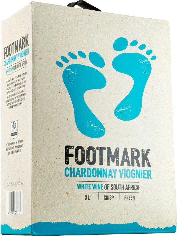 Footmark Chardonnay Viognier 2017 hanapakkaus