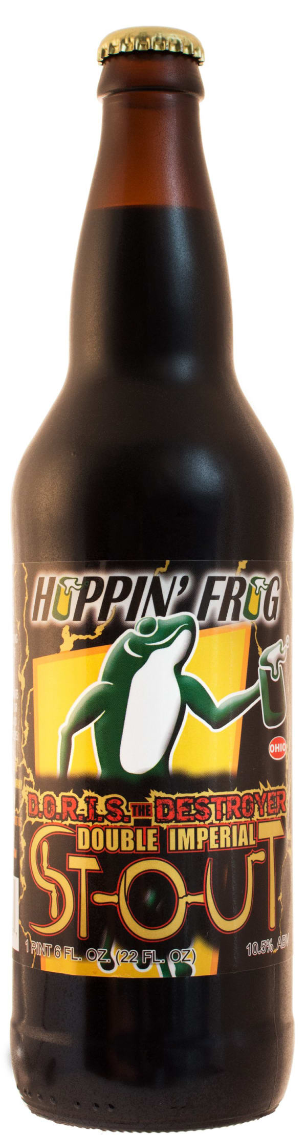 Hoppin' Frog D.O.R.I.S. the Destroyer Double Imperial Stout