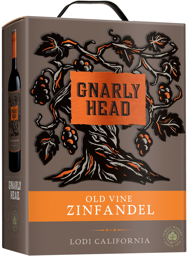 Gnarly Head Old Vine Zin 2015 lådvin