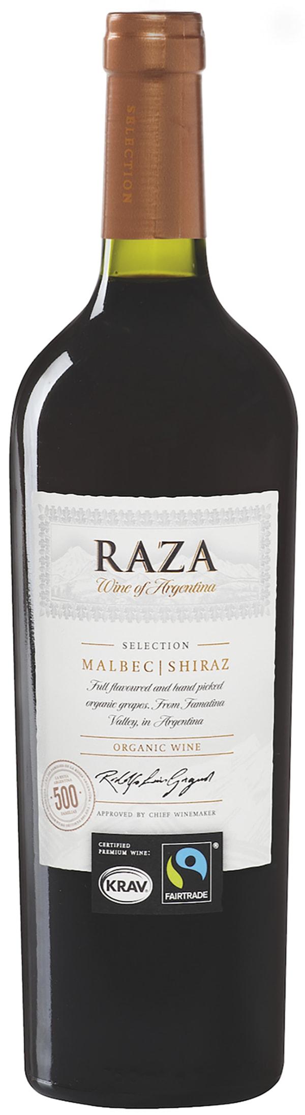 Raza Selection Malbec Shiraz Organic 2014