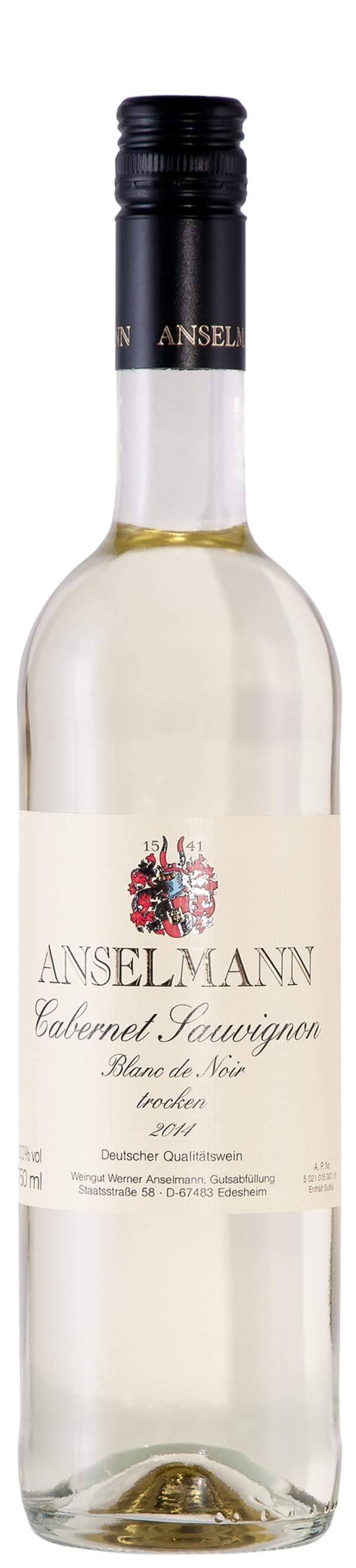 Anselmann Cabernet Sauvignon Blanc de Noir 2016