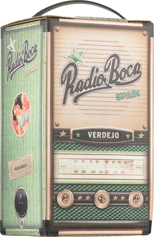 Radio Boca Verdejo hanapakkaus