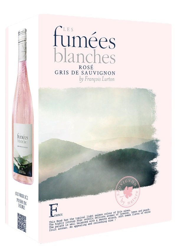 Les Fumées Blanches Rosé 2016 lådvin