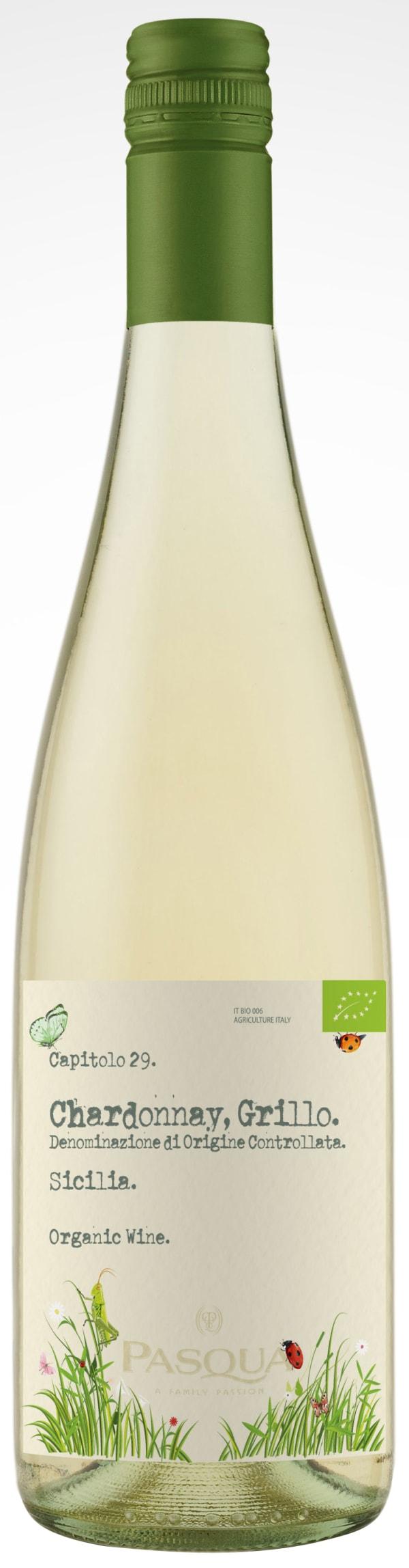 Pasqua Chardonnay Grillo Organic 2016