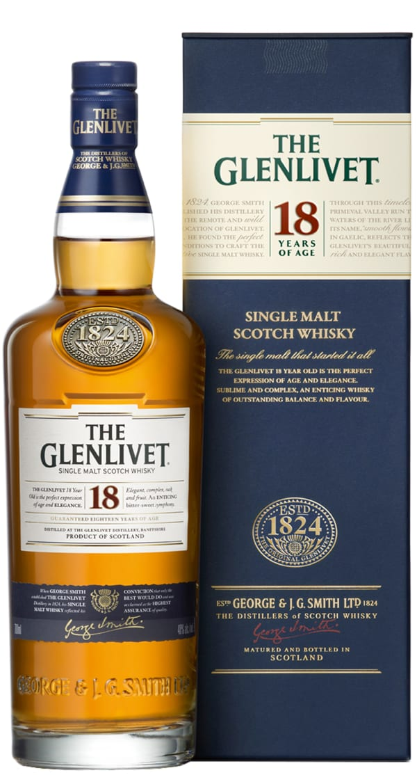 The Glenlivet 18 Year Old Single Malt