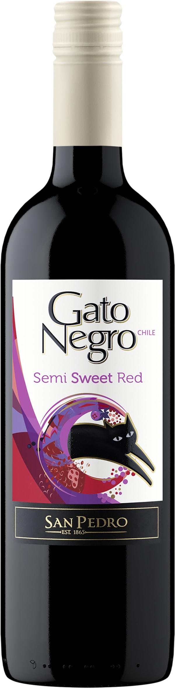 Gato Negro Semi Sweet Red 2017