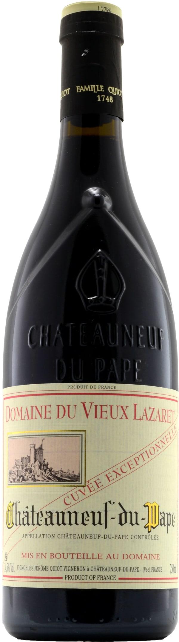Domaine du Vieux Lazaret Châteauneuf-du-Pape Cuvée Exceptionelle 2015