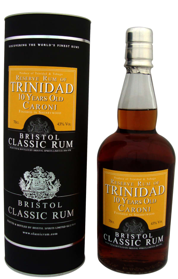Bristol Trinidad 10 Year Old Caroni Sherry Finish