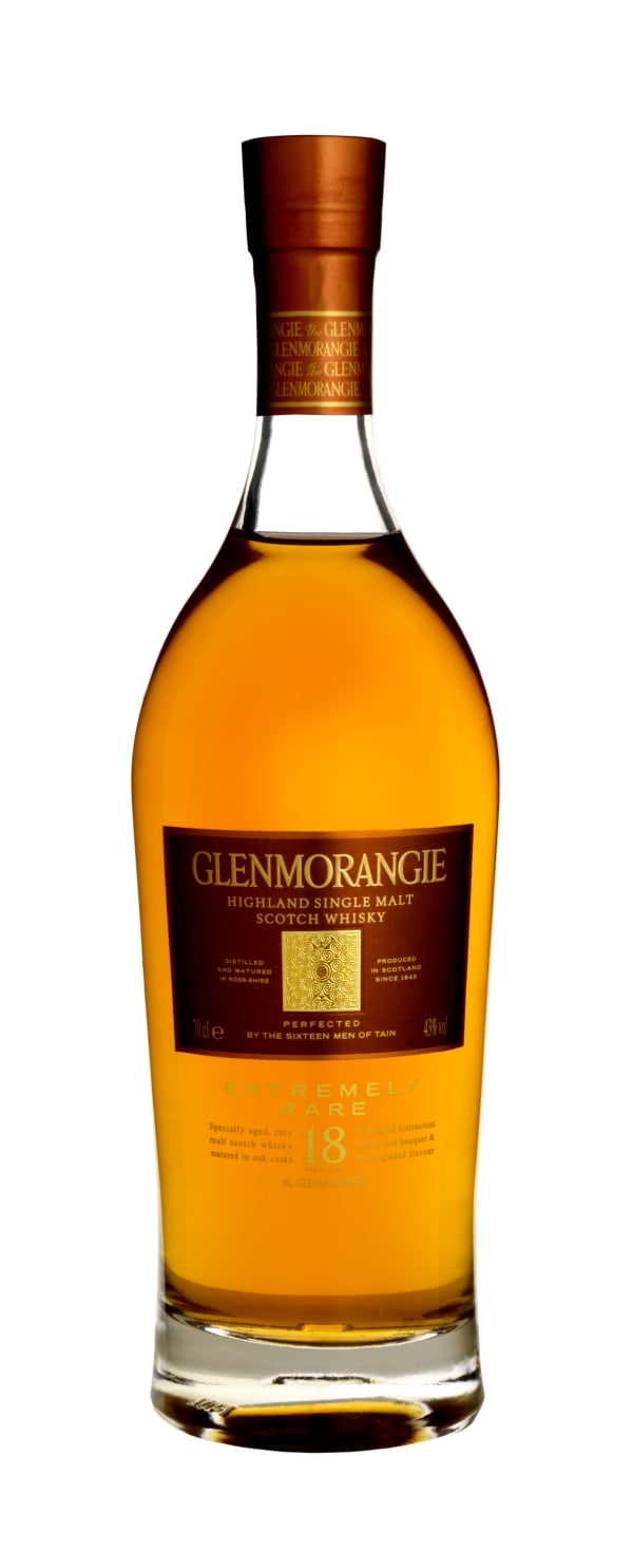 Glenmorangie Extremely Rare 18 Year Old Single Malt