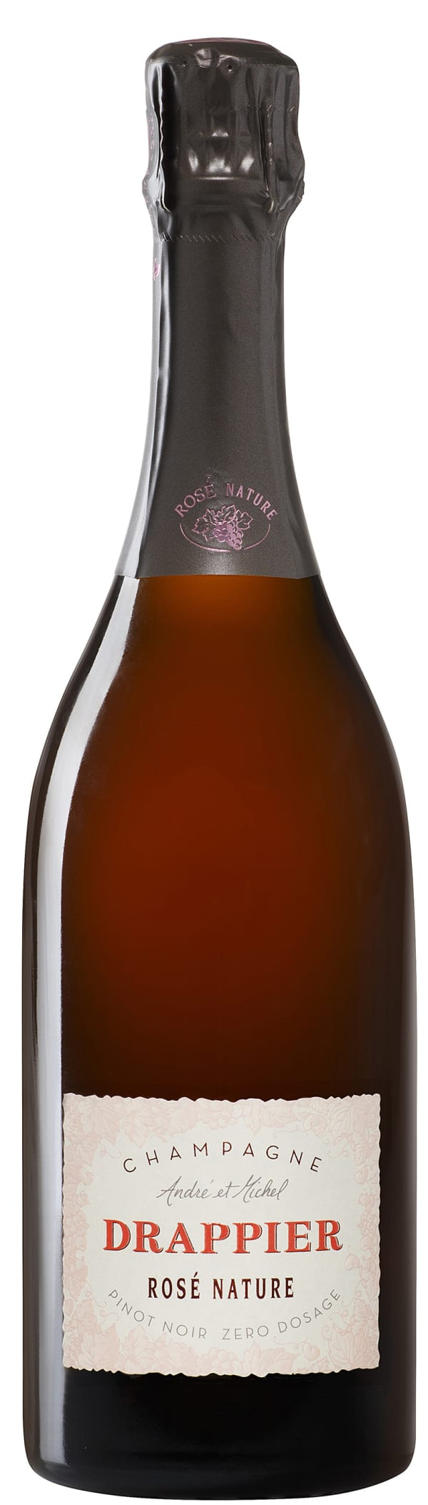 Drappier Rose Champagne Brut Nature
